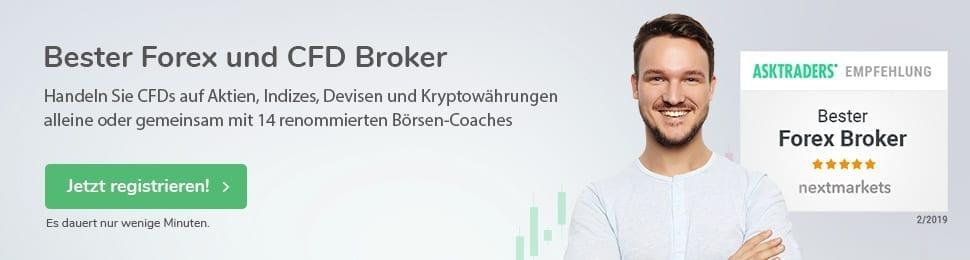Bester Forex und CFD Broker